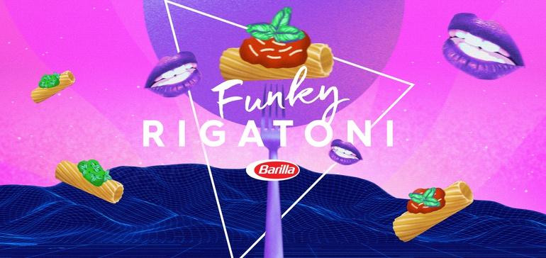 Barilla pens rigatoni-themed 'Funkytown' parody for <b>TikTok</b> thumbnail